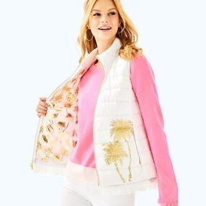 NWT Lilly Pulitzer Layli Masterpiece Puffer Vest